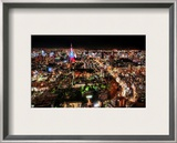 From Osaka to Tokyo Framed Photographic Print by Trey Ratcliff