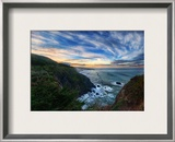 Big Sur in the Morning Framed Photographic Print by Trey Ratcliff