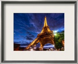 Deep in Paris Framed Photographic Print by Trey Ratcliff