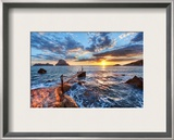 The Last Sunset Framed Photographic Print by Trey Ratcliff