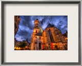 A Little Place I found on the way to dinner in Germany Framed Photographic Print by Trey Ratcliff