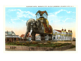 Elephant Hotel, Atlantic City, New Jersey Posters