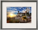 Sunset at Hearst Castle Framed Photographic Print by Trey Ratcliff