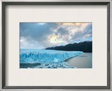 Deep into the Patagonia Glacier Framed Photographic Print by Trey Ratcliff