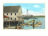 Yacht Club, Portsmouth, New Hampshire Posters