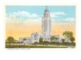 State Capitol, Lincoln, Nebraska Print