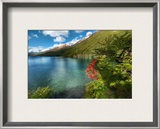 Circumnavigating the Lake Framed Photographic Print by Trey Ratcliff