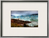 Approaching the Glacier after a Stormy Sunrise Framed Photographic Print by Trey Ratcliff