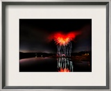 Heart of Satan Framed Photographic Print by Trey Ratcliff