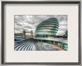 Grey London Framed Photographic Print by Trey Ratcliff
