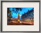 Big Ben at Dusk Framed Photographic Print by Trey Ratcliff
