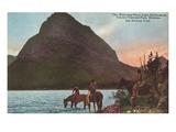 Lake McDermott, Glacier Park, Montana Posters