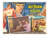 Mexican Movie Poster for Joseph and His Brethren Posters