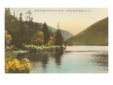 Echo Lake, Franconia Notch, New Hampshire Poster