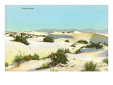 White Sands, New Mexico Posters
