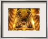 The Pillars of God Framed Photographic Print by Trey Ratcliff