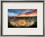 The Gladiator Arena at Sunset Framed Photographic Print by Trey Ratcliff