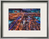 The Chinese Technopolis Framed Photographic Print by Trey Ratcliff
