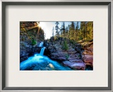 A Canyon Oasis Framed Photographic Print by Trey Ratcliff