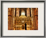 Ghost in the Cathedral Framed Photographic Print by Trey Ratcliff