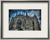 Dark Duomo Framed Photographic Print by Trey Ratcliff