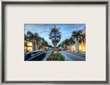 Play in Beverly Hills, Shop in Beverly Hills Framed Photographic Print by Trey Ratcliff