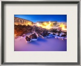 The Milky White Geothermal Occurrence Framed Photographic Print by Trey Ratcliff