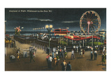 Playland at Night, Wildwood-by-the-Sea, New Jersey Art
