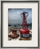 Fog in the Fishing Village Framed Photographic Print by Trey Ratcliff