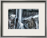 The Icy Part of the Waterfall Framed Photographic Print by Trey Ratcliff