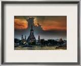 One Night in Bangkok Framed Photographic Print by Trey Ratcliff