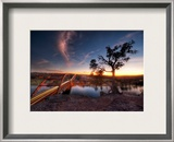 Another Sunset in Austin Framed Photographic Print by Trey Ratcliff