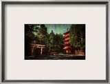 Ancient Nikko Framed Photographic Print by Trey Ratcliff