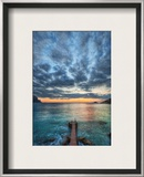 The Pier at the End of Times Framed Photographic Print by Trey Ratcliff