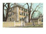Moffat Whipple Ladd House, Portsmouth, New Hampshire Poster