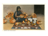 Nampeya, Hopi Pottery Maker Art