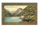 Lake MacDonald, Glacier Park, Montana Prints