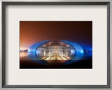 The Chinese Mothership Framed Photographic Print by Trey Ratcliff