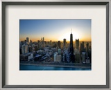 Hanging Out of the Chopper Framed Photographic Print by Trey Ratcliff