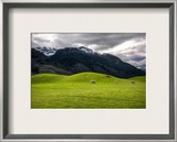 The Soft Hills on the way to Paradise, New Zealand Framed Photographic Print by Trey Ratcliff