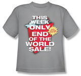 Youth: End of the World Sale T-shirts