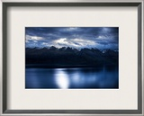 The Range at Night Framed Photographic Print by Trey Ratcliff