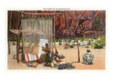 Navajo Rug Weavers Posters