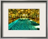The pool that taunted me in Jogjakarta Framed Photographic Print by Trey Ratcliff