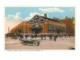 Park Place-Bahnhof, Newark, New Jersey Kunstdrucke