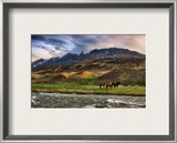 The Impossible Mountains Framed Photographic Print by Trey Ratcliff