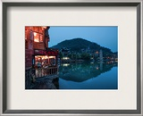 Night Settles In Feung Huang Framed Photographic Print by Trey Ratcliff