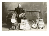 One-Man Percussion Section Photo