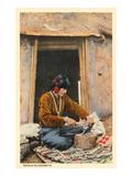 Navajo Silversmith Art