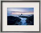 The Edge of Iceland at Sunset Framed Photographic Print by Trey Ratcliff